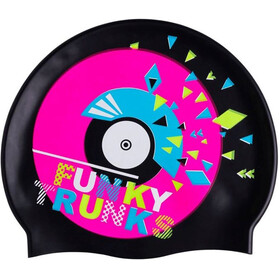 Funky Trunks Silicone Swimming Cap Disco Stu